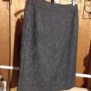 Dressbarn Tweed Pencil Skirt